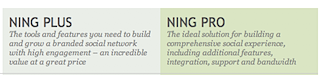 About Ning - Pricing Plans1